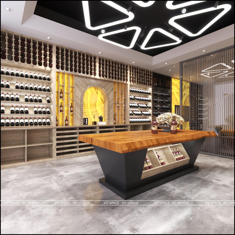 Nội Thất Showroom rượu Le Vine