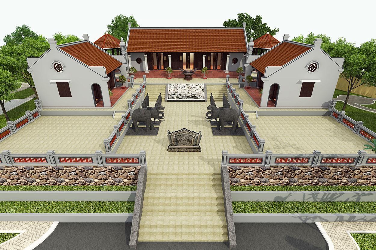 Dự Án Nhà Truyền Thống & Vườn Cây Cảnh Quan Hòa Bình